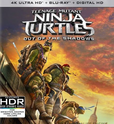 Teenage Mutant Ninja Turtles: Out of the Shadows (2016) 2160p 4K UltraHD BluRay (x265 HEVC 10bit) 2CH AC3