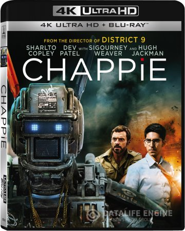 Chappie (2015) 2160p 4K UltraHD BluRay (x265 HEVC 10bit) 2CH AAC