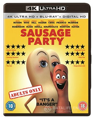 Sausage Party (2016) 2160p 4K UltraHD BluRay