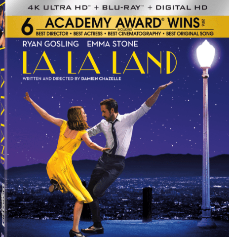 La La Land 4K 2160P Blu-Ray