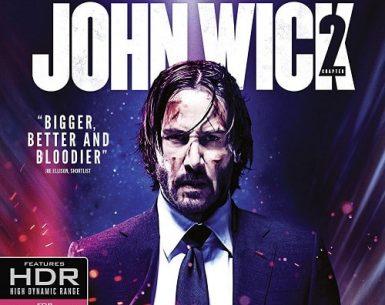 John Wick: Chapter Two 4K Ultra HD BluRay
