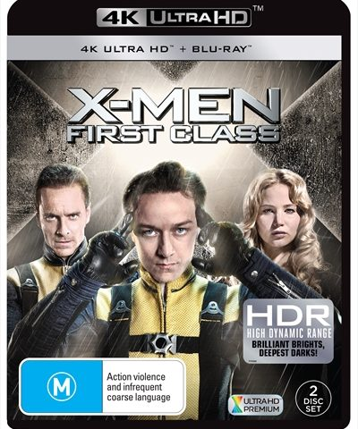 X-Men First Class (2011) 4K Ultra HD BD REMUX