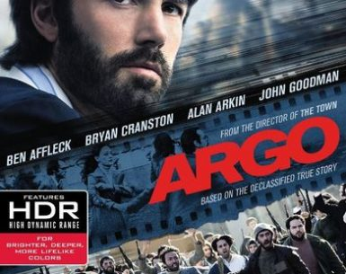 Argo (2012) 4K Ultra HD 2160P Blu-Ray