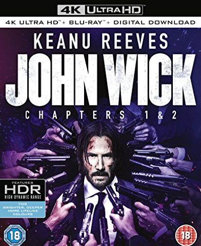 John Wick 2014 / John Wick: Chapter 2 2017 4K Ultra HD Blu-Ray