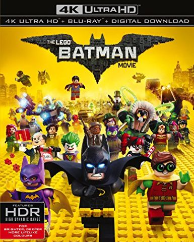 The LEGO Batman Movie 2017 Ultra HD 2160P