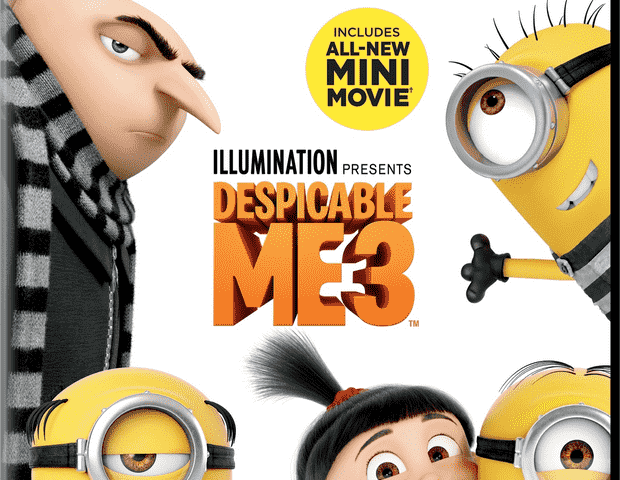 Despicable Me 3 (2017) 4K Ultra HD Blu-Ray