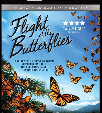 Flight of the Butterflies (2012) DOCU 4K Ultra HD