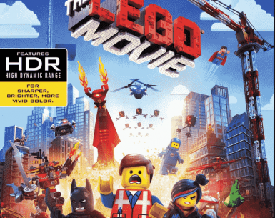 The LEGO Movie 2014 4K Ultra HD
