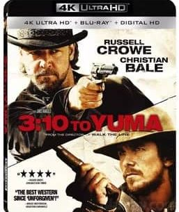 3:10 to Yuma 2007 4K Ultra HD 2160P Blu-ray