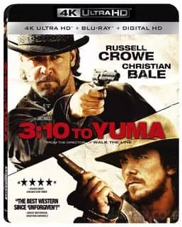 3:10 to Yuma 2007 4K Ultra HD 2160P Blu-ray