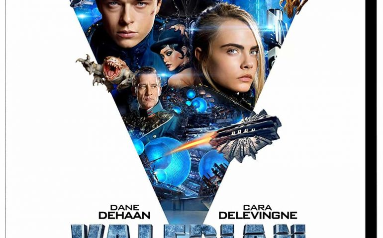 Valerian and the City of a Thousand Planets 2017 4K Ultra HD Blu-ray