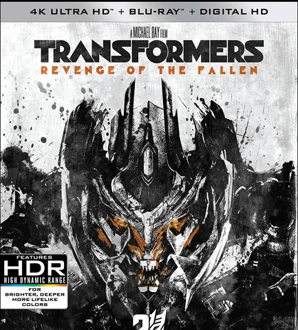 Transformers Revenge of the Fallen 2009 4K Ultra HD 2160p