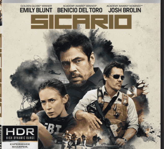 Sicario 4K 2015 Blu-ray REMUX UHD 2160p