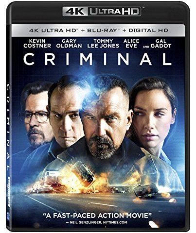 Criminal 4K 2016 Ultra HD 2160p