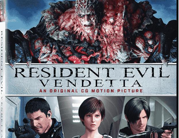 Resident Evil Vendetta 4K 2017 Ultra HD 2160p