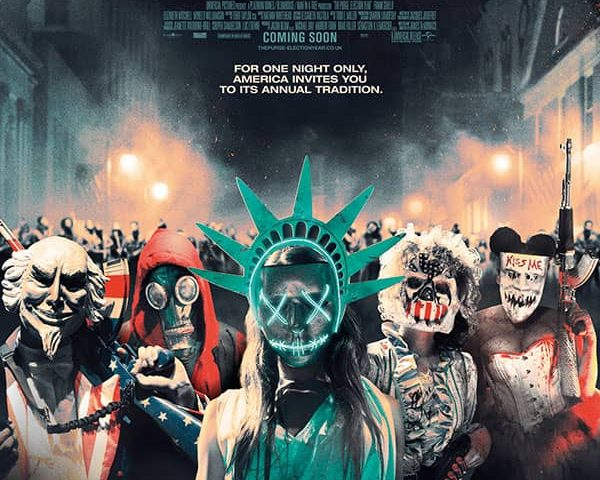 The Purge: Election Year 4K 2016 Ultra HD 2160p