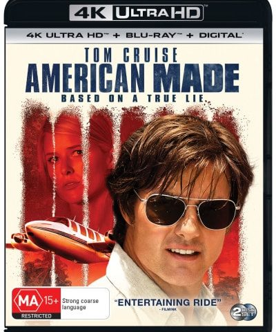 American Made 4K 2017 Ultra HD 2160p