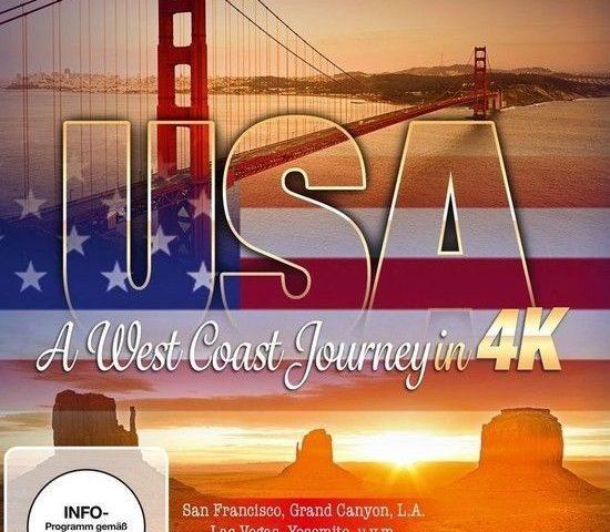 USA A West Coast Journey 4K 2014 DOCU Ultra HD 2160p