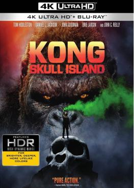 Kong Skull Island 4K 2017 Ultra HD 2160p