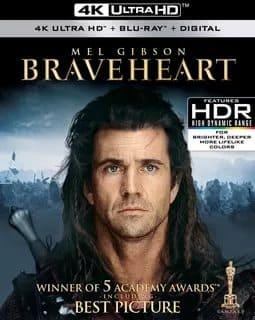Braveheart 4K 1995 Ultra HD 2160p