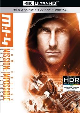 Mission: Impossible - Ghost Protocol 4K 2011 Ultra HD 2160p