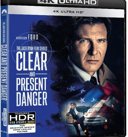 Clear And Present Danger 4K 1994 Ultra HD 2160p