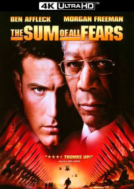 The Sum of All Fears 4K 2002 Ultra HD 2160p