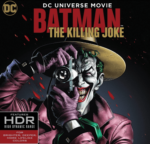 Batman: The Killing Joke 4K 2016 Ultra HD 2160p