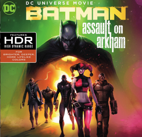 Batman: Assault on Arkham 4K 2014 Ultra HD 2160p