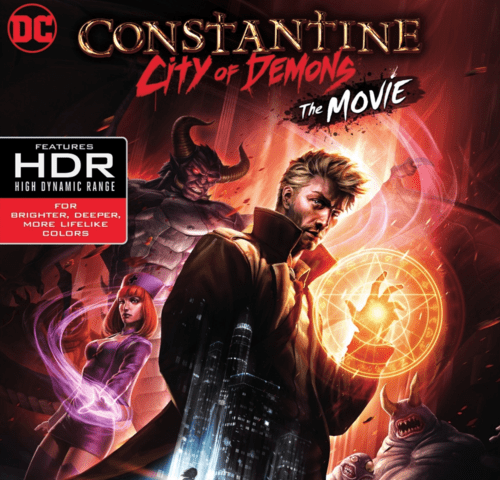 Constantine: City of Demons 4K 2018 Ultra HD 2160p