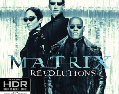 The Matrix Revolutions 4K 2003 Ultra HD 2160p
