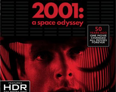 2001: A Space Odyssey 4K 1968 Ultra HD 2160p