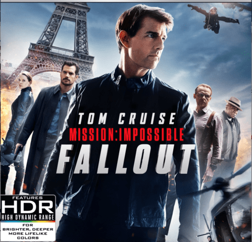 Mission: Impossible - Fallout 4K 2018 Ultra HD 2160p