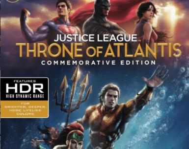 Justice League: Throne of Atlantis 4K 2015 Ultra HD 2160p