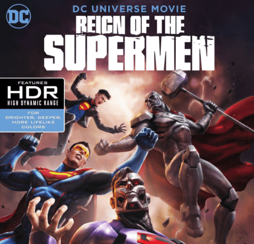 Reign of the Supermen 4K 2019 Ultra HD 2160p