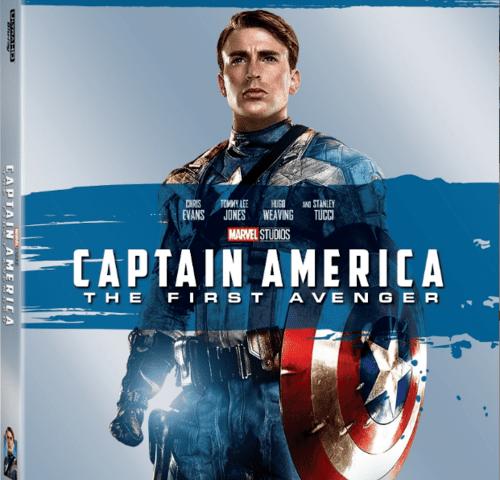Captain America The First Avenger 4K 2011 Ultra HD 2160p