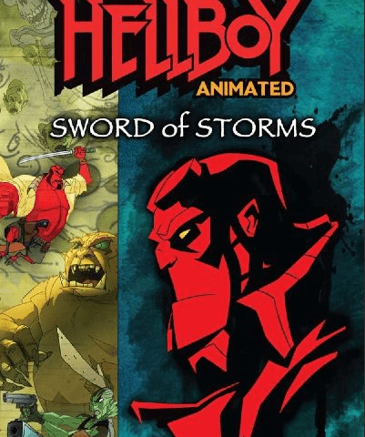 Hellboy Animated Sword of Storms 4K 2006 Ultra HD 2160p