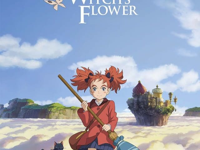 Mary and the Witch's Flower 4K 2017 Blu-ray Japanese