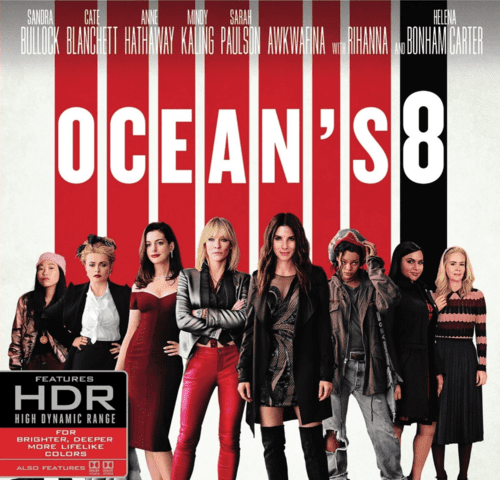 Ocean's Eight 4K 2018 Ultra HD 2160p
