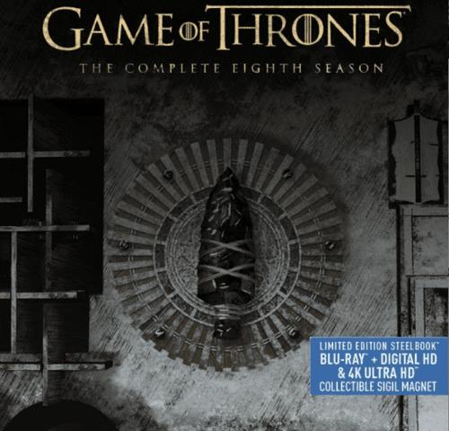 Game of Thrones Season 8 4K Ultra HD 2160p