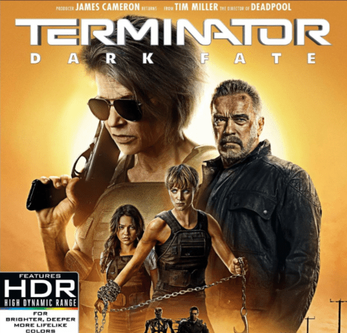 Terminator: Dark Fate 4K 2019