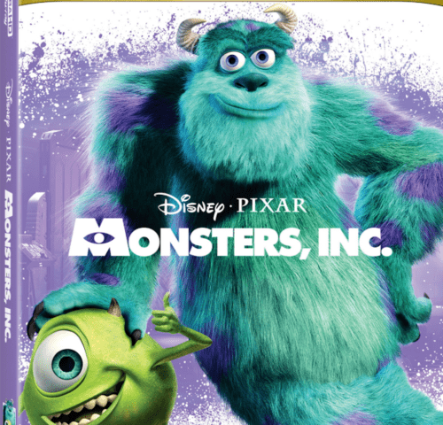 Monsters Inc 4K 2001
