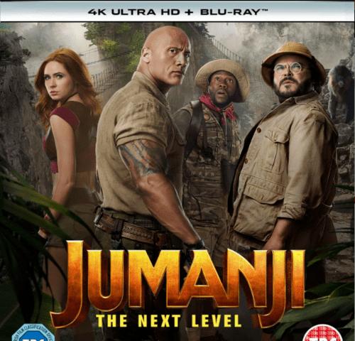 Jumanji The Next Level 4K 2019