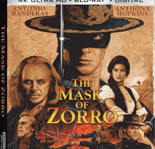 The Mask of Zorro 4K 1998