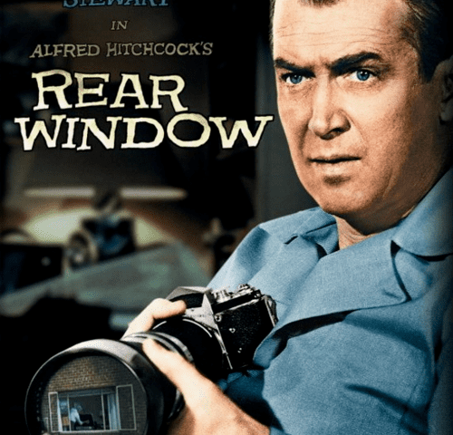Rear Window 4K 1954