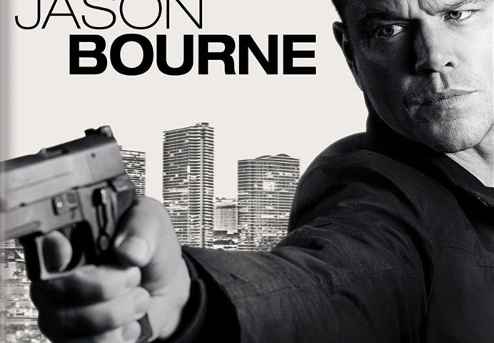 Jason Bourne 4K 2016