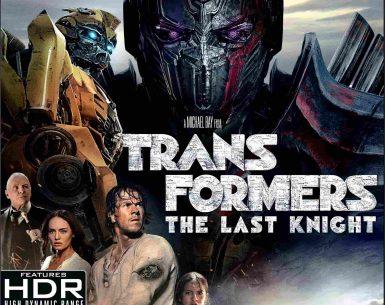 Transformers The Last Knight 4K 2017