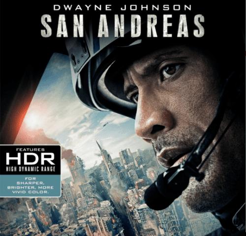 San Andreas 4K 2015