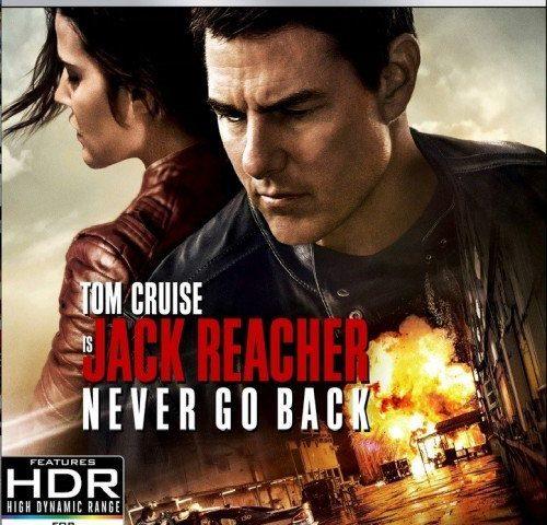 Jack Reacher Never Go Back 4K 2016
