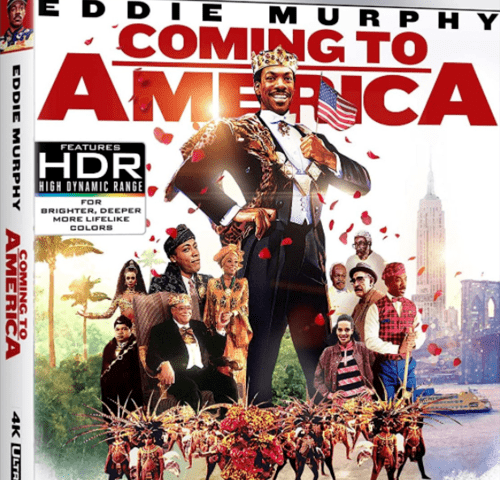 Coming To America 4K 1988